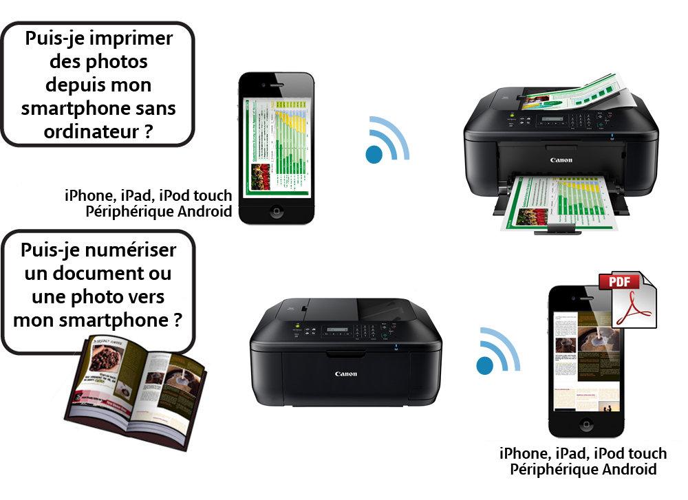 canon pixma mx475 imprimante jet d 39 encre couleur wi fi informatique. Black Bedroom Furniture Sets. Home Design Ideas