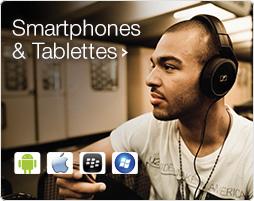 Smartphones Tablettes