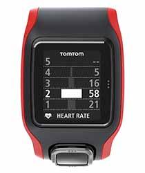 Grâce à un graphique en plein écran, vous pouvez visualiser les temps de course (en %) correspondant à chaque zone de fréquence cardiaque