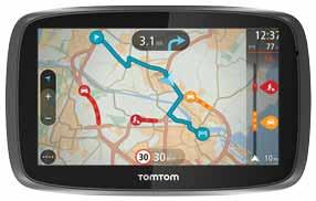 Service TomTom Traffic à vie avec fonctionnalité «Connecté via smartphone»