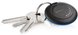 Porte-clés connecté à un iPhone