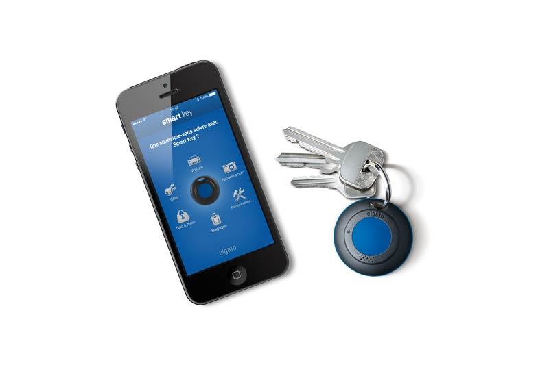 Elgato Smart Key Votre Porte Cl 233 S Connect 233 224 Votre Iphone Bluetooth Smart Amazon Fr Gps Amp Auto