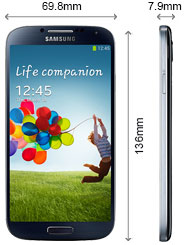Samsung Galaxy S4 Smartphone 4,99 pouces Android