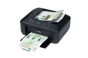 Vitesse d'impression de documents A4 (ESAT ISO) : 8,7 ipm en noir et blanc/5 ipm en couleur