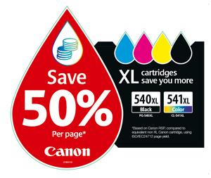 Imprimez davantage de documents à moindre coût grâce aux cartouchesXL