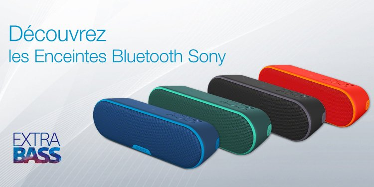 Enceintes Sony
