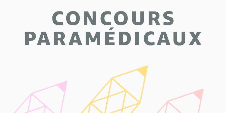 Rentrée scolaire Concours paramédicaux