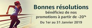 Bonnes résolutions : bénéficiez de nos promotions à partir de -20%