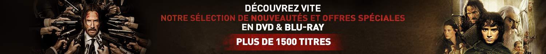 1500 titres Blu-Ray & DVD
