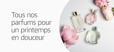 Tous nos parfums pour un printemps en douceur