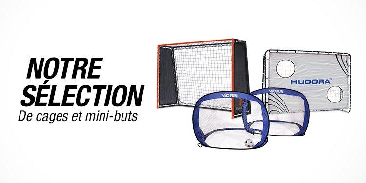 Notre sélection de cages et mini-buts pour l'été