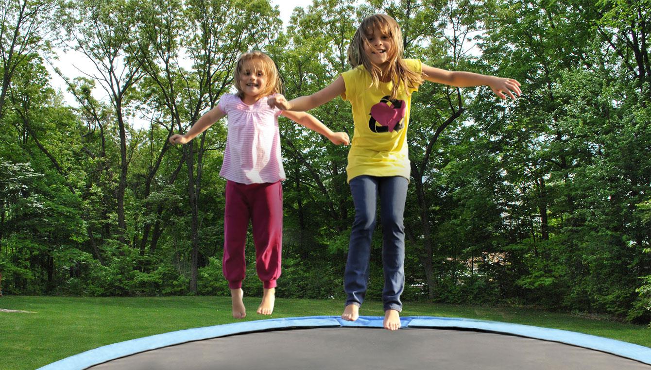 Découvrez nos trampolines
