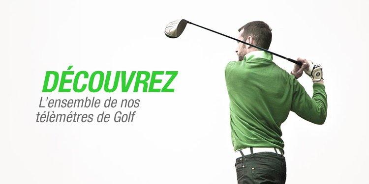 Decouvrez l'ensemble de nos telemetres de golf