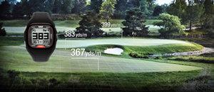 Golf distance entrée/milieu/sortie de green