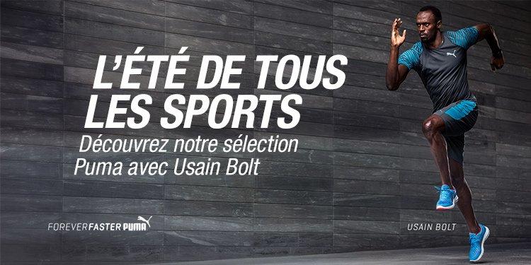 L'été de tous les sports : Usain Bolt chez Puma