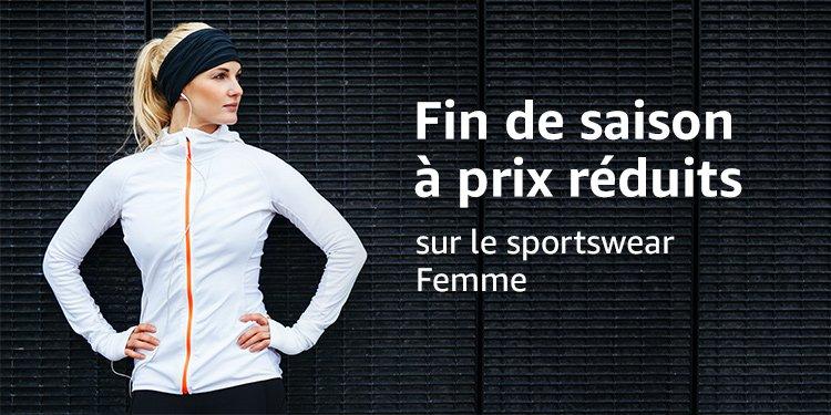 Fin de saison à prix réduits sportswear femme
