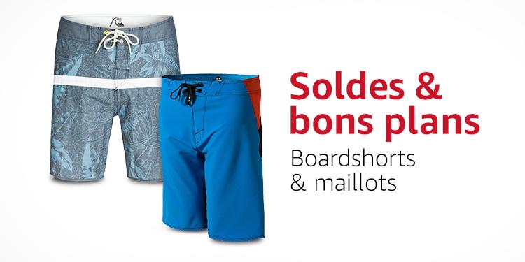 Soldes & bons plans : boardshorts