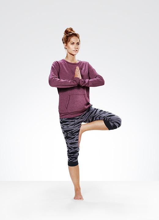 vêtements yoga femme