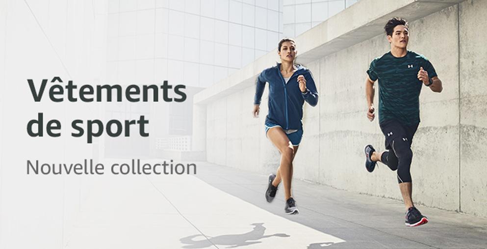 Vêtements de sport nouvelle collection automne-hiver