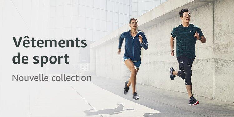 Nouvelle collection automne-hiver vêtements de sport