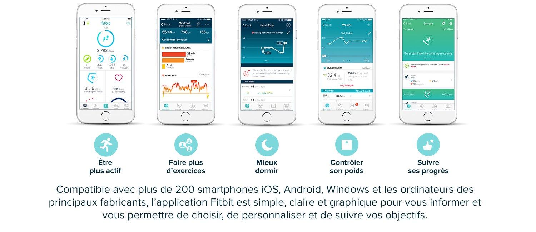 Compatible avec plus de 200 smartphones