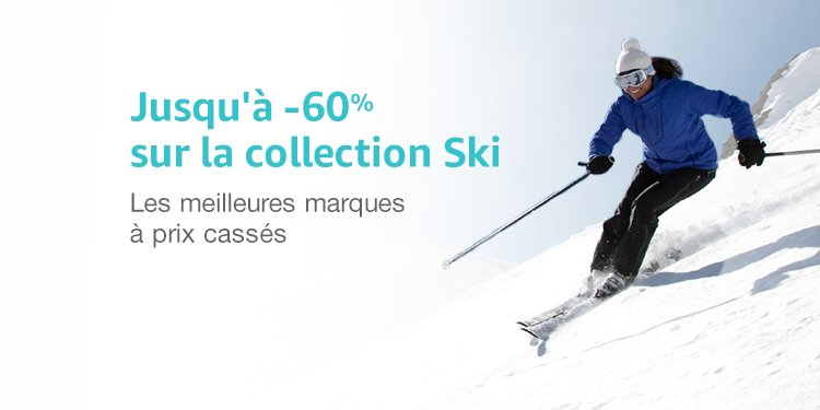 Promotion sur la collection ski