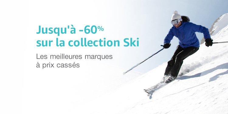 Promotion sur la collection ski