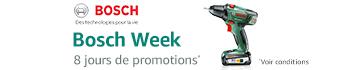 Bosch Week : 8 jours de promotions