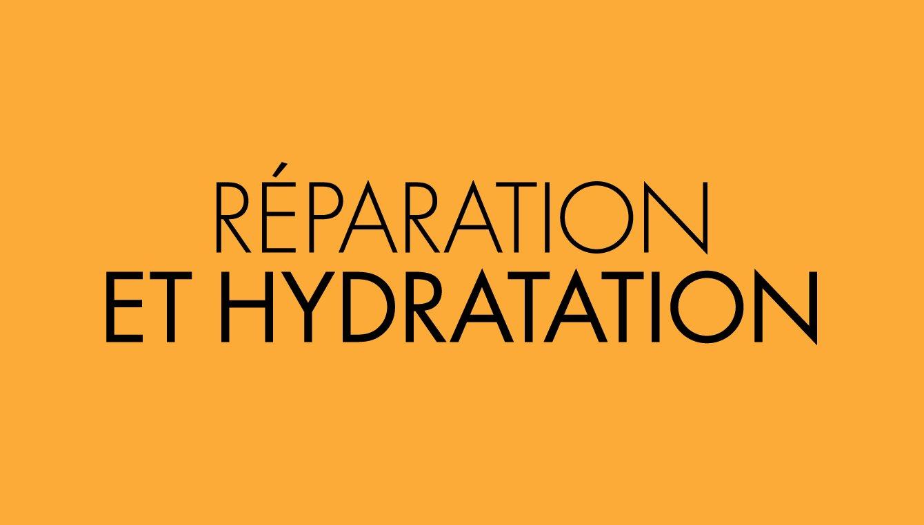 Reparation et hydratation