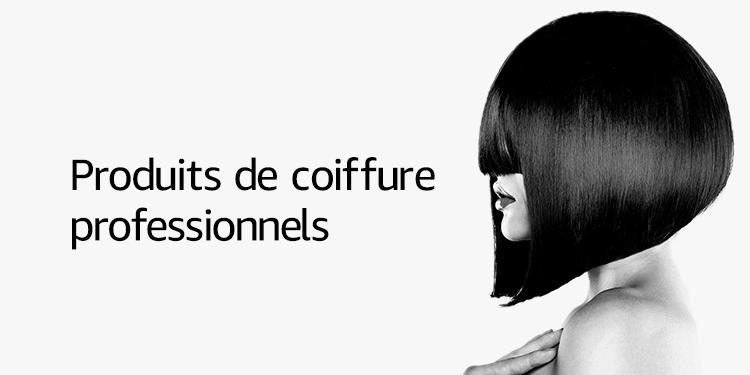 Produits de coiffure professionnels
