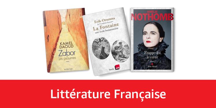 Littérature française 2017