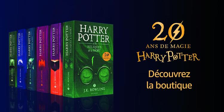 Harry Potter : 20 ans de magie