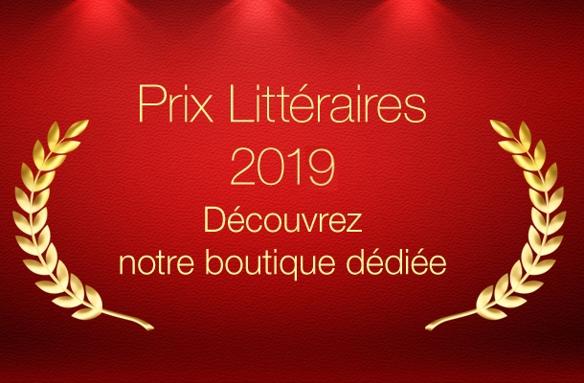 Prix Litteraires 2019