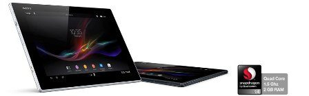 Tablette avec processeur Snapdragon™ S4 Pro