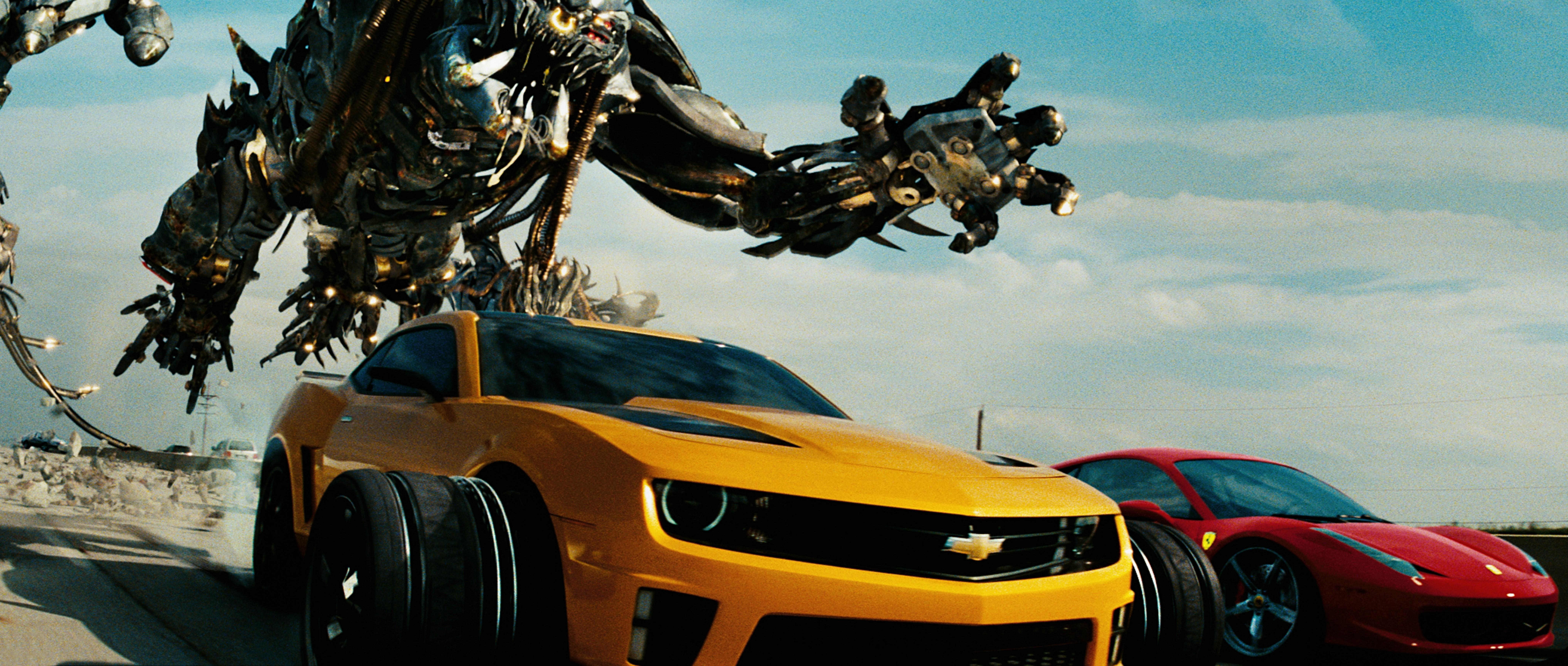 Transformers 3 - La face cachée de la Lune Combo Blu-ray