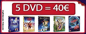 5 DVD = 40€