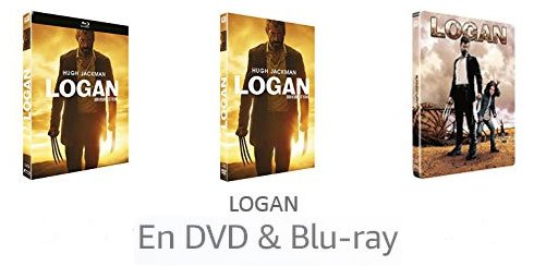 Logan en DVD & Blu-ray