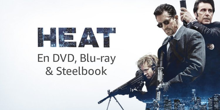Heat en DVD, Blu-ray & steelbook