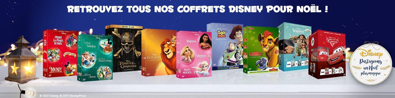 Les Coffrets de Noël Vidéo Disney