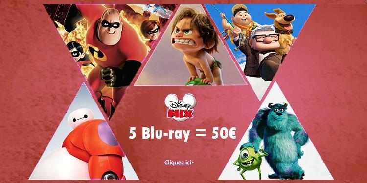 5 Blu-ray = 50€