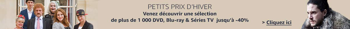 Promotions DVD, Blu-ray et Séries TV