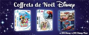 Les coffrets de Noel Disney
