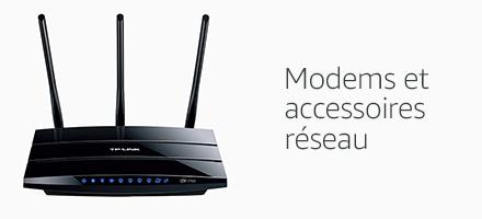 Modems et accessoires réseau