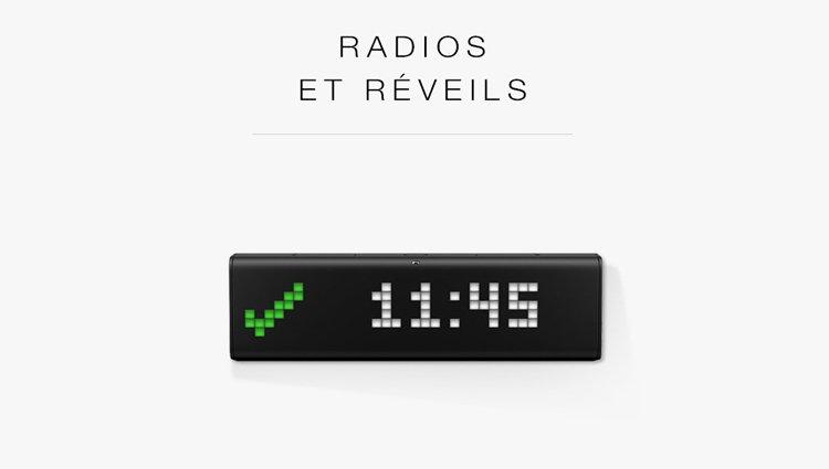 Radios et réveils