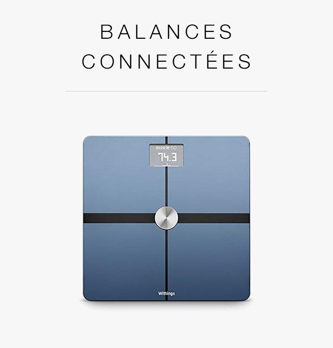 Balances connectées