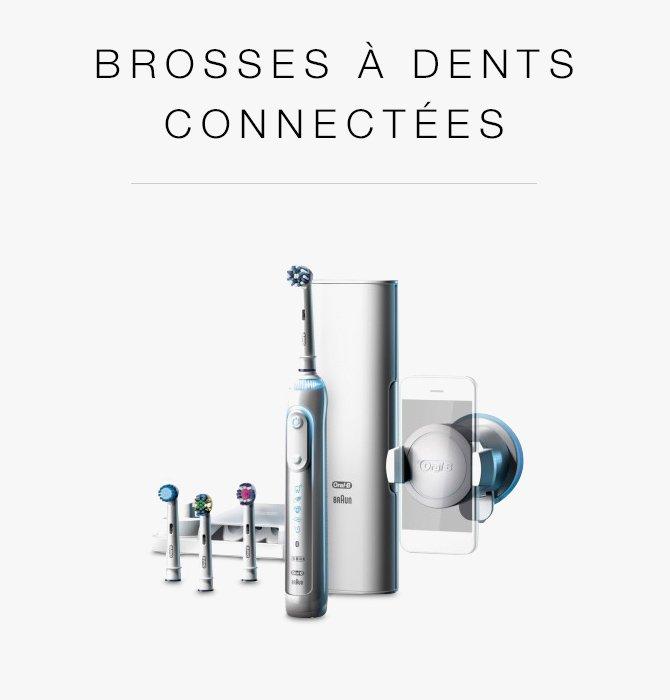 Brosses à dents connectées