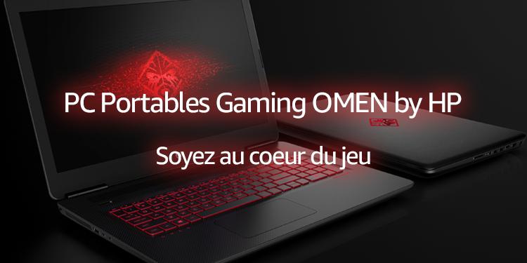 PC Portables Gaming OMEN by HP : Soyez au coeur du jeu