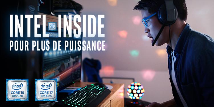 Intel Inside : pour plus de puissance