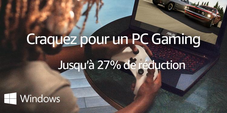 Craquez pour un PC Gaming - Jusqu'à 27% de réduction