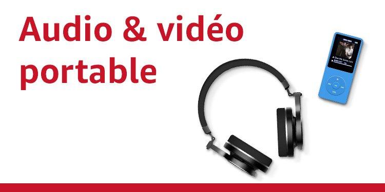 Audio et vidéo portable